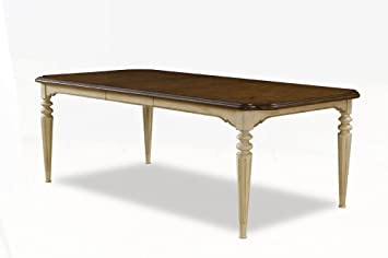 Provenance Rectangular Dining Table By A.R.T. Furniture   English Toffee  Top / Linen Base (76220