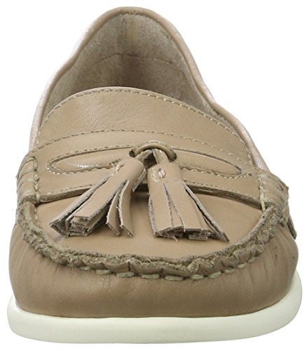 Bianco Damen Tassel Sailor Loafer 25-49248 Mokassin Beige (nougat)