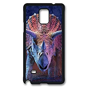samsung note 4 Case, note 4 Case, Shock-Absorption Back Case for samsung note 4 Charging Triceratops Dinosaur Scratch Hard Back Case for samsung note 4