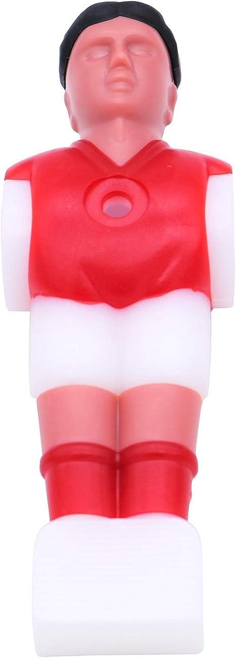 12 piezas de repuesto de futbolín de futbolín, accesorios de futbolín, perfecto para jugadores, torneos, color rojo: Amazon.es: Hogar