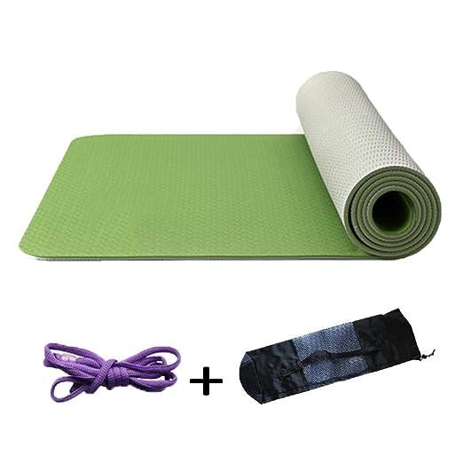 TPE Pilates Tapetes Antideslizante Yoga Mat Ideal para ...