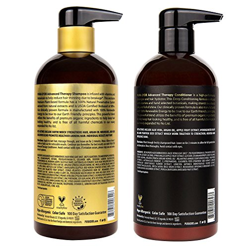 PURA-DOR-Advanced-Therapy-System-Shampoo-Conditioner-Reduces-Hair-Thinning-for-Thicker-Head-of-Hair-Infused-with-Premium-Organic-Argan-Oil-Aloe-Vera-16-Fl-Oz