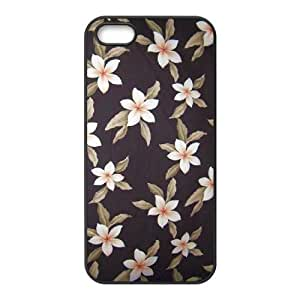 Red Hawaii Flower Use Your Own Image Phone Case for Iphone 5,5S,customized case cover ygtg606452