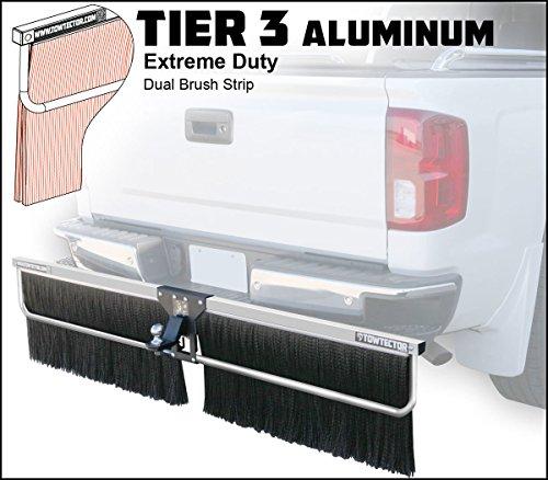Towtector Aluminum Tier 3 Mud Flap 27820-T3AL Extreme Duty Dual Brush Strip - 78