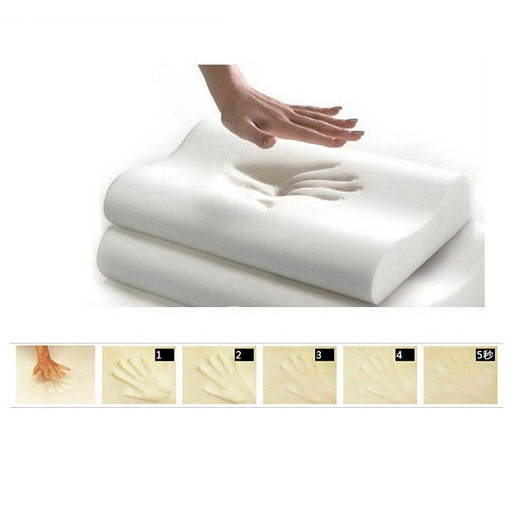 30CM White HEALIFTY Memory Foam Pillow Slow Rise Sleep Innovations Contour Bedroom Sleep Head Neck Back Support 50