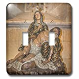 Danita Delimont - Religion - Portugal, Lisbon, Pieta in interior of Lisbon Cathedral - Light Switch Covers - double toggle switch (lsp_227811_2)