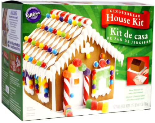 Pre-Baked Gingerbread House