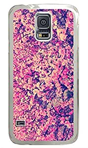 Samsung Galaxy S5 nature flower colorful 1 PC Custom Samsung Galaxy S5 Case Cover Transparent