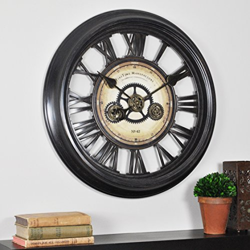 FirsTime Co. FirsTime Gear Works Wall Clock