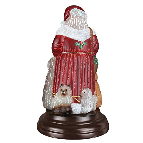 Old World Christmas Night Light Figurine - Santa's Furry Friends by Merck Old World Christmas