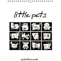 little pets (Wandkalender 2019 DIN A4 hoch): Tierkollektion im Schwedenstyle (Planer, 14 Seiten ) (CALVENDO Kunst)