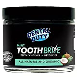 #1: All Natural Charcoal Teeth Whitening Gum Powder -Mint Flavor- Made with Organic Coconut Activated Charcoal and Bentonite Clay Formula for Stronger Healthy White Teeth.No need for Strips, Kits or Gel.