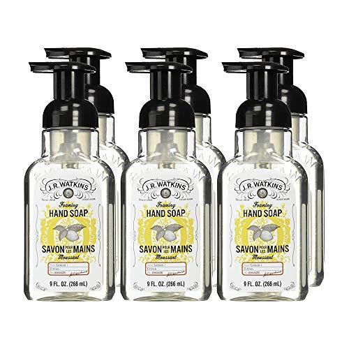 - J.R. Watkins Foaming Hand Soap, Lemon, 9 ounce (Pack of 6)