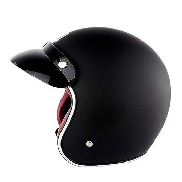 OD-B Casco de Motocicleta, Casco de Motocicleta Dot, Visor ...