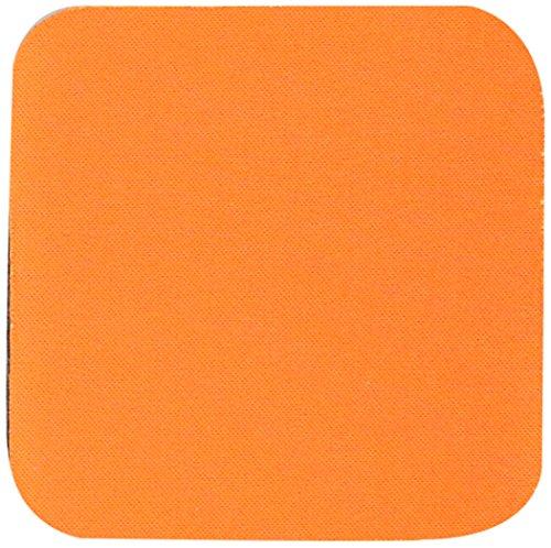 3drose Bright Orange Coaster Soft