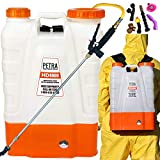 Petra 4 Gallon Battery Powered Backpack Sprayer - Extended Spray Time...