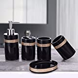 GTVERNH-Recipients Of The Gifts The Resin Bath Kit Bath Kit Home Wedding On The Move The Bathroom Vanity Set Black