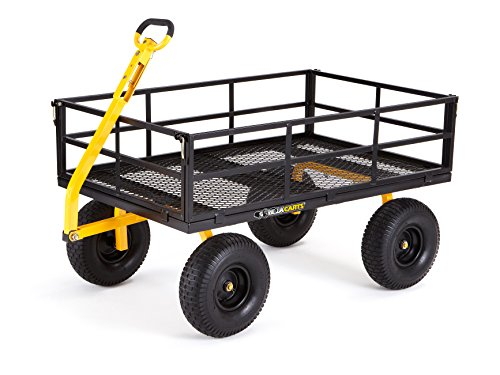 Gorilla-Carts-Heavy-Duty-Steel-Utility-Cart-with-Removable-Sides-and-15-Tires-with-1400-lb-Capacity-Black