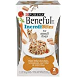 Purina Beneful IncrediBites with Real Chicken, Tomatoes, Carrots & Wild Rice Dog Food 3-3 oz. Cans, for Small Dogs (1)