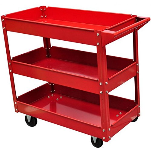 SKB Family Workshop Tool Trolley 220 lbs. Heavy Duty Storage Rolling Cart by SKB Family (Image #4)