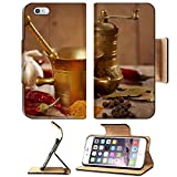 MSD Premium Apple iPhone 6 Plus iPhone 6S Plus Flip Pu Leather Wallet Case IMAGE ID: 8119762 variety of spices