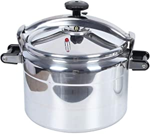 Pot, explosion proof pressure cooker, aluminum alloy pressure cooker, household pressure cooker, hotel pressure cooker, general purpose gas cooker, commercial large capacity pressure cooker 9-50L