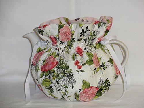 Pretty Pink Peonies 6 Cup Reversible Tea Pot Cozy