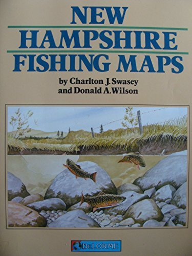 New Hampshire Fishing Map Book by Charlton J. Swasey - Mall Shopping New Hampshire
