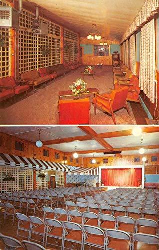 (Lebanon Colorado Grand Lake Lodge Lounge Playhouse Vintage Postcard K107662)