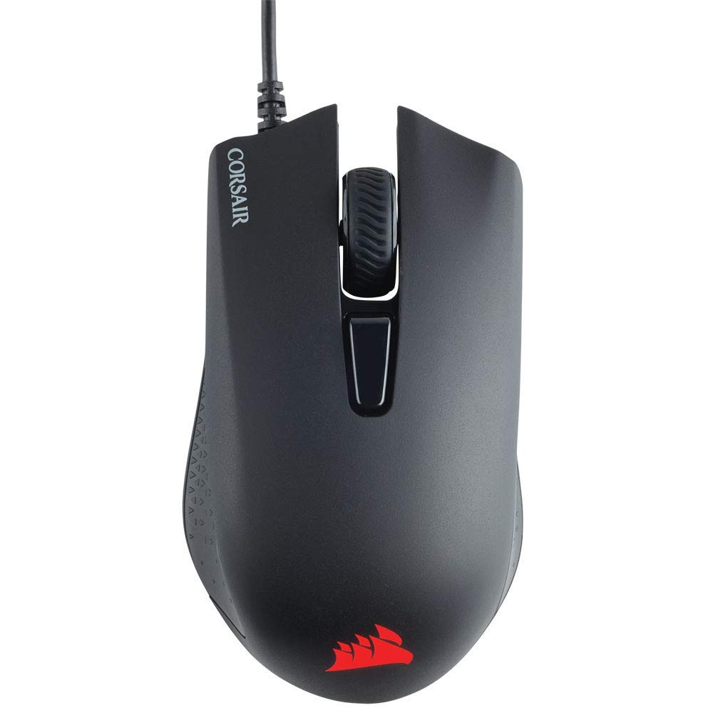 Corsair CH-9301011-AP Gaming Harpoon RGB Gaming Mouse, Backlit RGB LED,  6000 DPI, Optical Sensor