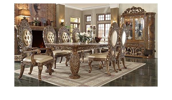 Amazon Com Inland Empire Furniture Enzo 9 Piece Formal Dining Room