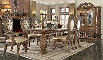 Amazon.com - Inland Empire Furniture Enzo 9 Piece Formal ...