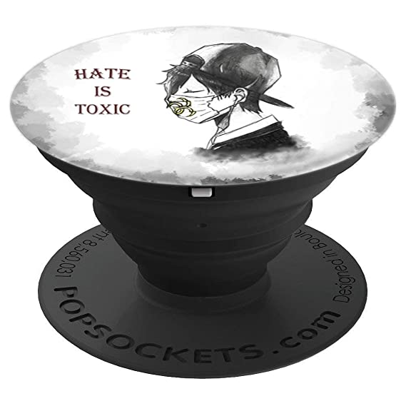 Hate is Toxic - PopSockets Grip and Stand for Phones and Tablets