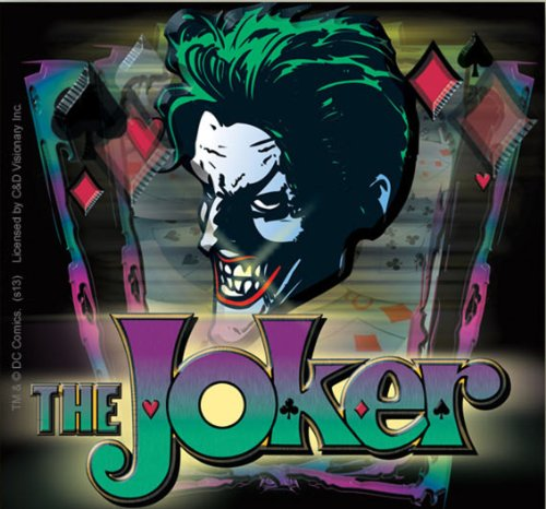 Licenses Products DC Comics Batman Joker with Logo Sticker (Guitar Logo Dc)