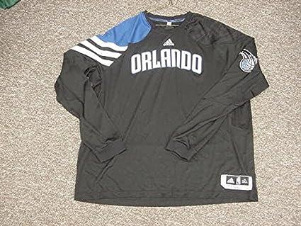 the latest 8f805 6a482 Glen Davis Orlando Magic 2011-2012 Game Worn Long Sleeve ...