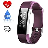 iPosible Fitness Tracker Heart Rate Monitor, Activity Tracker Watch Waterproof Smart Bracelet Pedometer Step Counter Sleep Monitor Calorie Counter Smart Watch GPS Women Kids Men Android iOS
