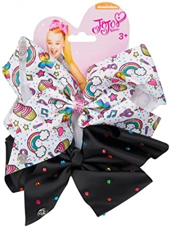 Amazon Nickelodeon Jojo Siwa Cupcakes Black Diamantes 2 Pack