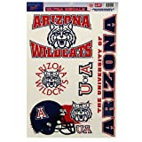 university of arizona auto decal - NCAA University of Arizona 02914014 Multi Use Decal, 11 x 17