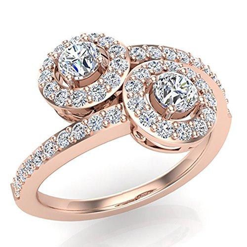 0.90 Ct Tw Round Diamonds - 3