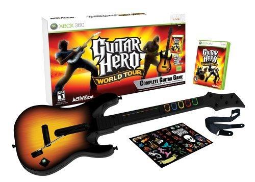 Guitar Hero: World Tour - Guitar Bundle (Xbox 360): Amazon co uk: PC