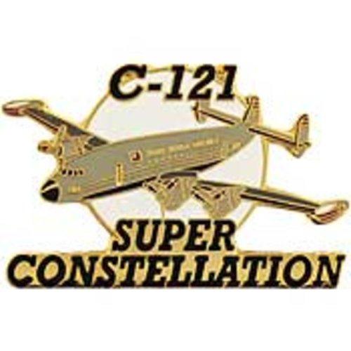 (C-121 Super Constellation Airplane Pin 1 1/2