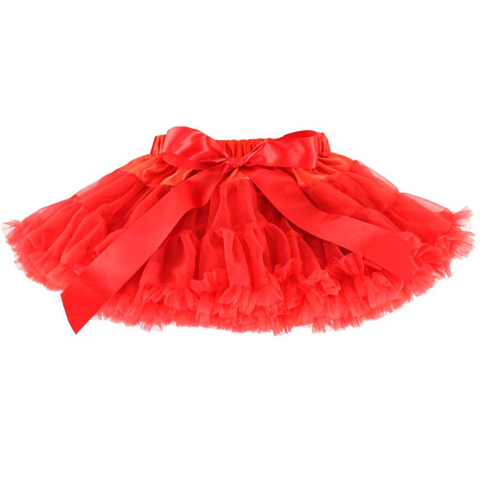 Wennikids Xmas Baby Kids Girls Dancewear Chiffon Tutu Pettiskirt Princess Skirt LC-RS-498-4