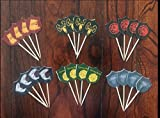Game of Thrones Cupcake Toppers Game of Thrones Party Supplies SET OF 24