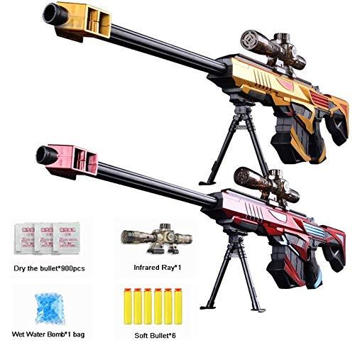 新着 プラスチック赤外線ため水銃弾銃のおもちゃの狙撃ライフルピストルソフトペイントボール屋外おもちゃ撮影銃キッズギフト B07Q2KF8D1 B07Q2KF8D1, 色見本のG&E:b8f01b7d --- fenixevent.ee