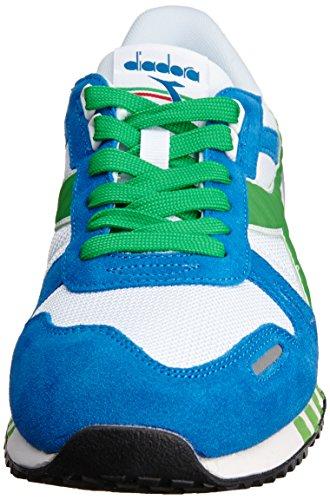 Diadora Titan Ii - Zapatillas de running de Material Sintético para hombre Multicolore (C0814 Bianco/Smeraldo)