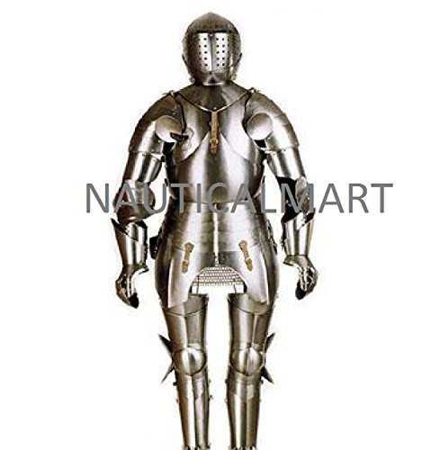Caballero Medieval traje de Armor por Nauticalmart: Amazon ...