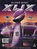 xlix program - Malcolm Butler New England Patriots Signed Autographed Super Bowl XLIX Program B