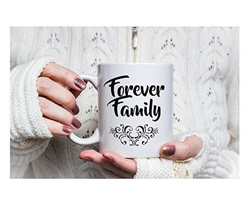 Forever Family Mug, Coffee Mug, Statement Mug, Cute Mug, Eternal family, Family Present, 11oz (Denver Broncos Nfl Stained Glass)