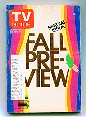 TV Guide-September 12-18-1981-Kentucky Edition (Tv Guide September 1981)