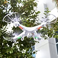 Best Choice Products RC 6-Axis Quadcopter Flying Drone Toy With Gyro and Camera Remote Control LED Lights by Best Choice Products
